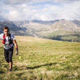 Cristofer Clemente en el Trail 100 Andorra