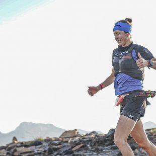 Ana Tauste en la Gran Trail Aneto-Posets 2021