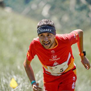Daniel Osanz en el Campeonato de España de Kilómetro Vertical 2021. Foto de Epic & Legend