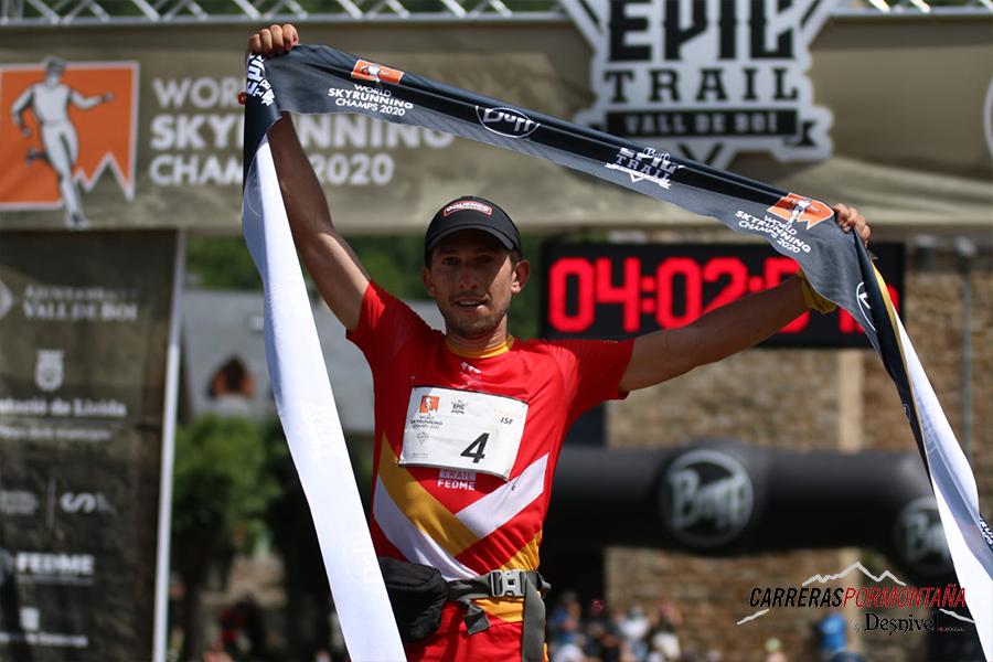 Manu Merillas nuevo campeón del mundo skymarathon