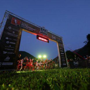 Salida del Campeonato del Mundo de Sky Ultra 2021 en la Buff Epic Trail 68K. Foto de Francesc Lladó