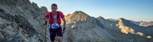 Iker Karrera en la 8K del Trail Valle de Tena 2021