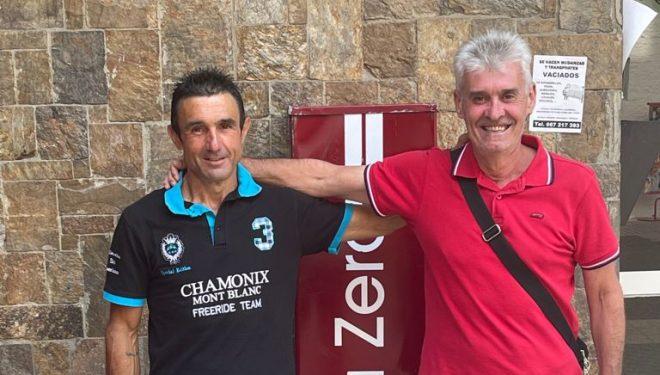José y Ramón, los corredores rescatados Picos de Europa