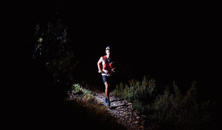 Alejandro Mayor en la Ultra Trail Guara Somontano 2021. Foto de Borja Iban