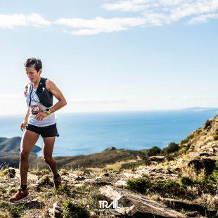 Eli Gordón en el Trail Cap de Creus 2021