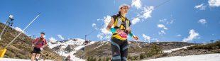 Una corredora en Ultra Sierra Nevada 2020