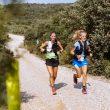 Yolanda Fernández y Cristina Salazar en la Trail Guara Somontano 2021