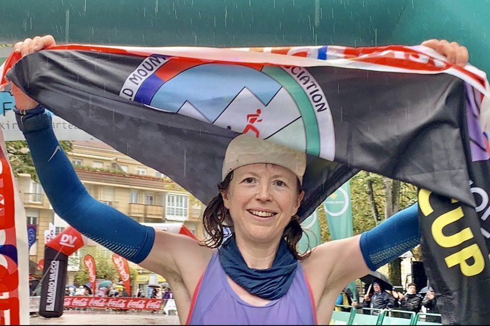 Charlotte Morgan, vencedor de Zumaia Flysch Trail 2021